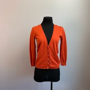 J.crew crystal button front cardigan